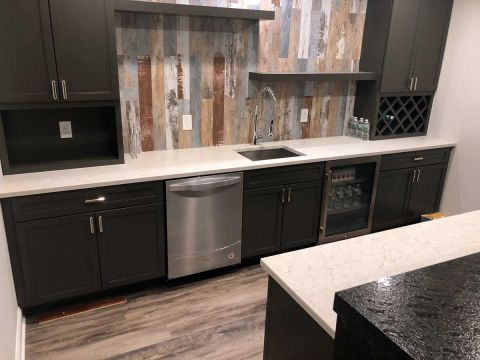 January 2018 - KITCHEN CABINET, Clark, New Jersey